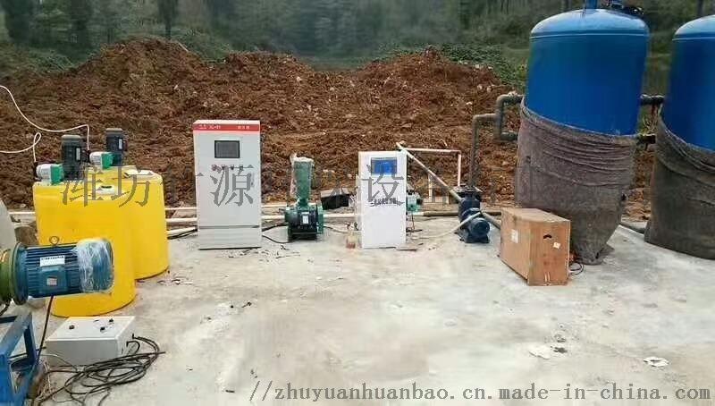 養豬場無臭糞水處理設備-竹源112084792