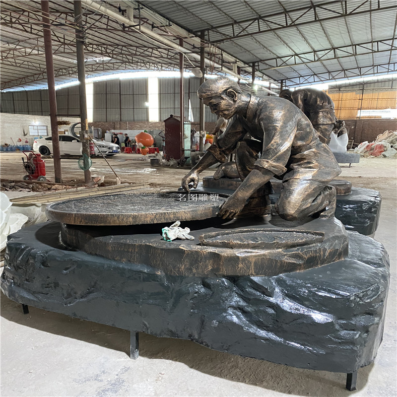 广州  题材雕塑 红色人物雕塑 广场文化主题雕塑119958362