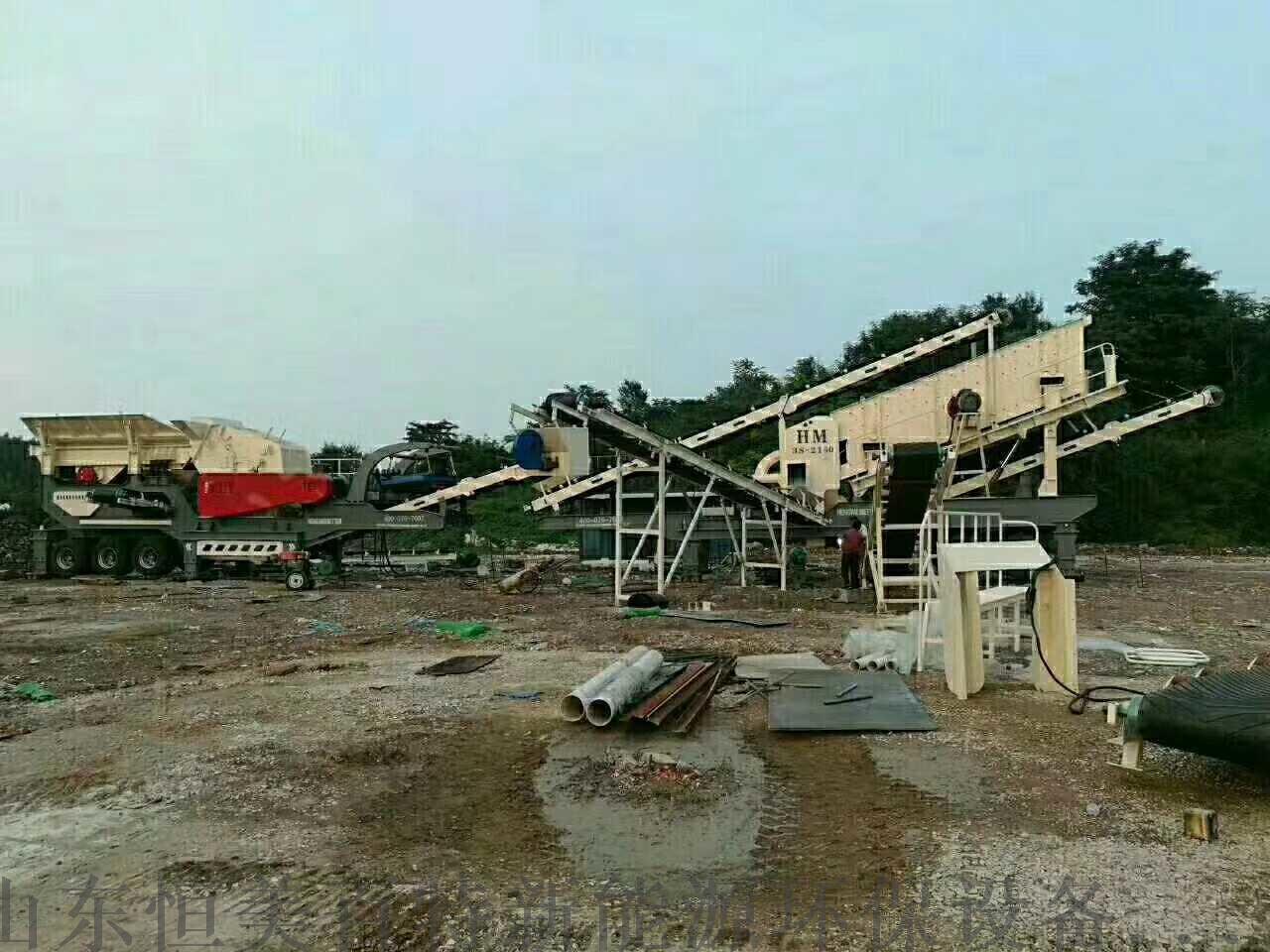反击式破碎机移动破碎站,山东鄂式破碎机生产厂家76599422