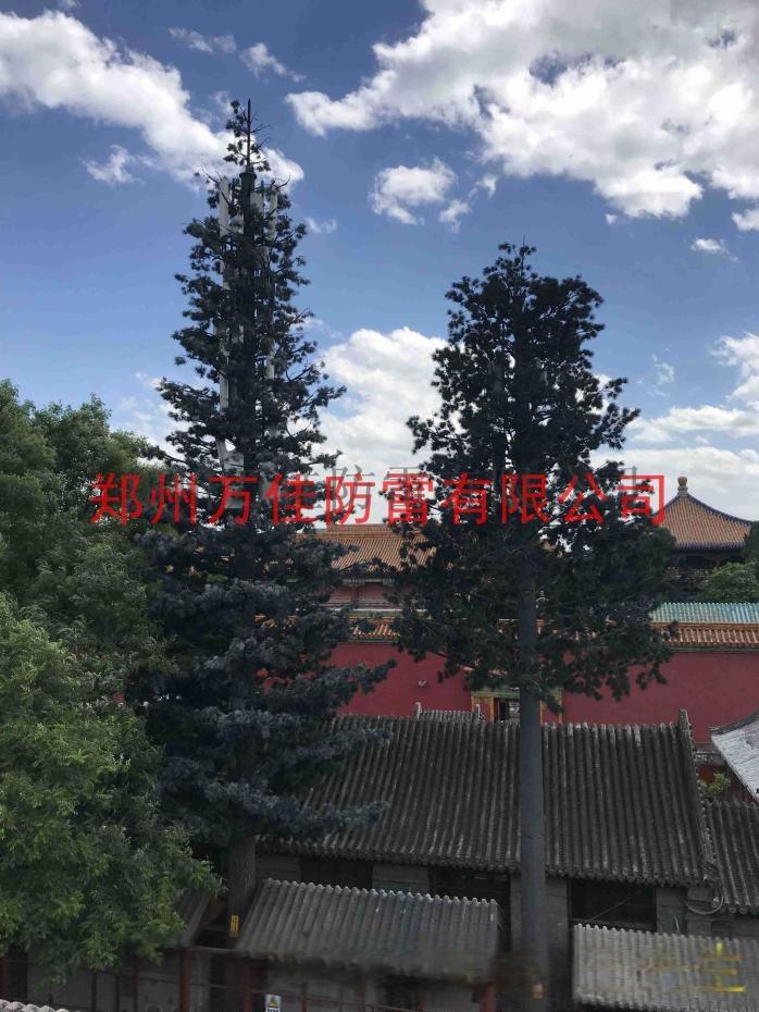 35米仿生树通讯塔,仿生松树信号塔,仿真椰树避雷针817412382