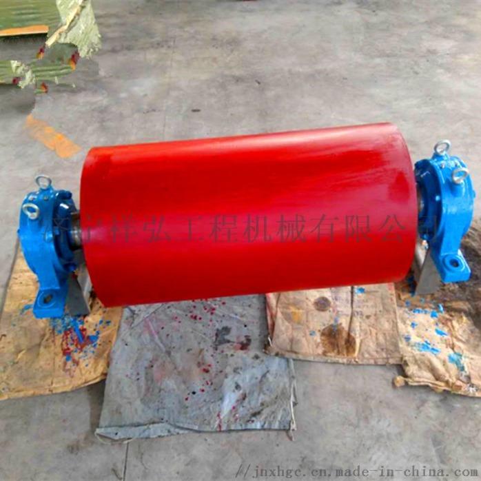 光面改向滚筒 包胶滚筒厂家 山西矿用改向滚筒817397402