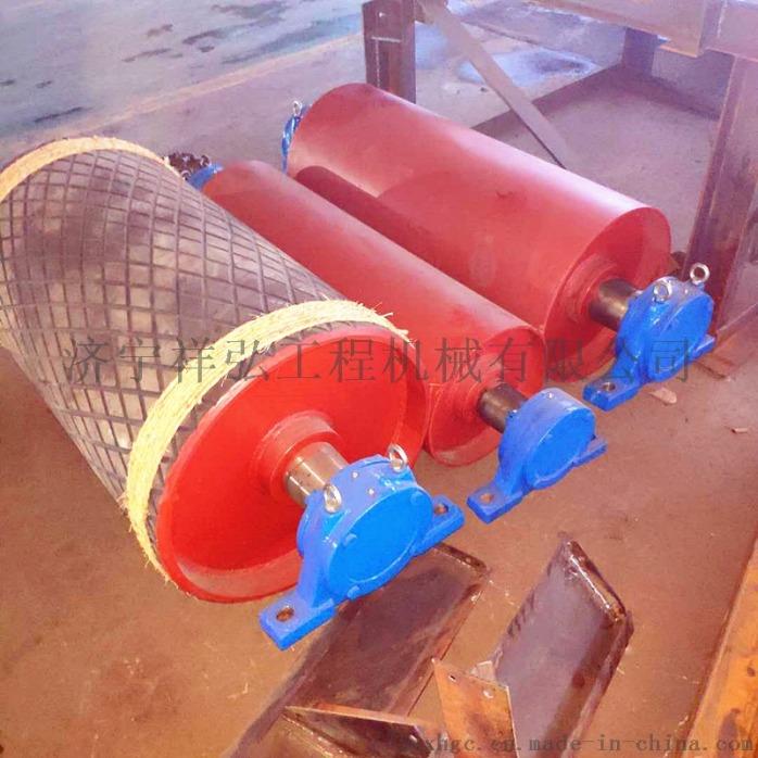 铸胶改向滚筒厂家 主动滚筒定做 陕西650改向滚筒814494052