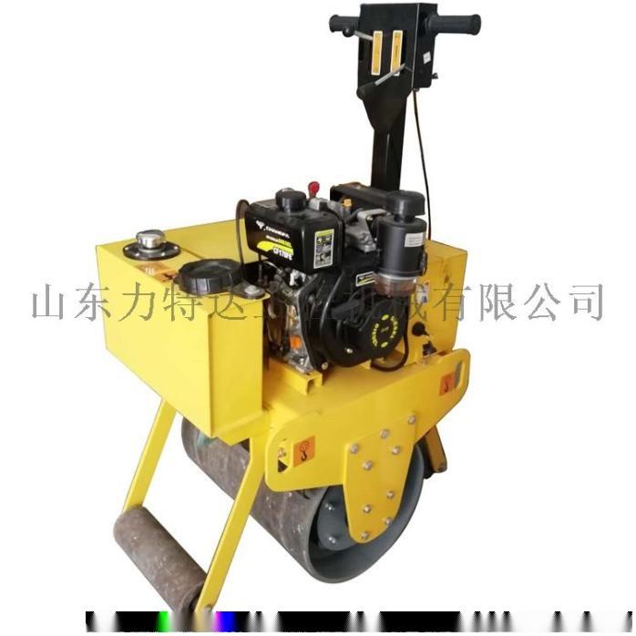 303雙鋼輪壓路機 座駕式壓路機 小型振動壓土機807929502