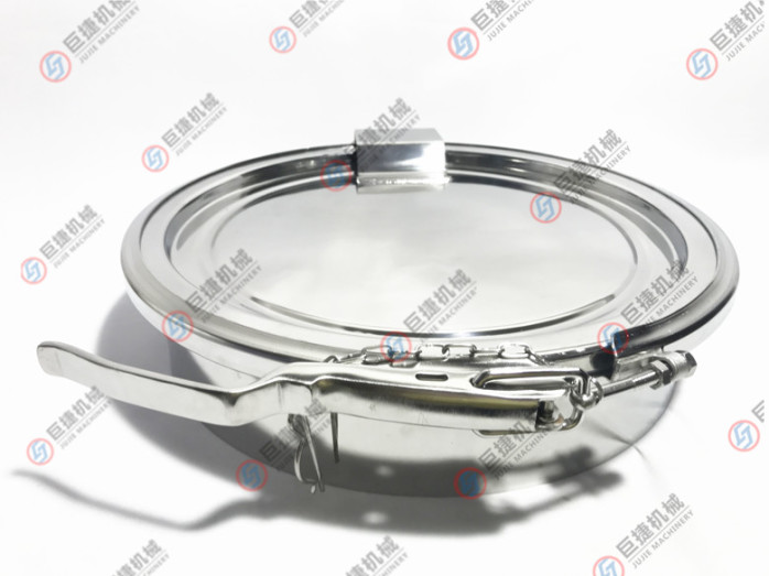 定制可掀盖卡箍人孔 卫生级卡箍人孔  常压人孔38631075