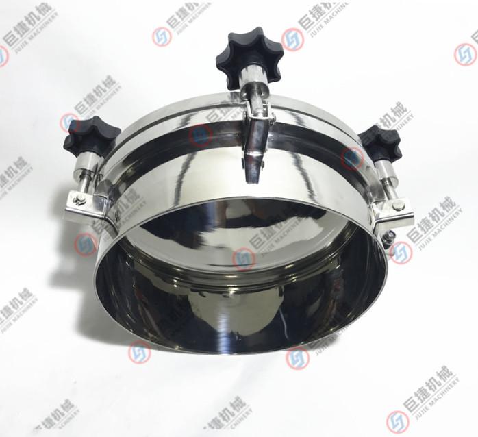 圆形压力型人孔盖人孔表面不抛光酸洗处理3公斤圆人孔47899835