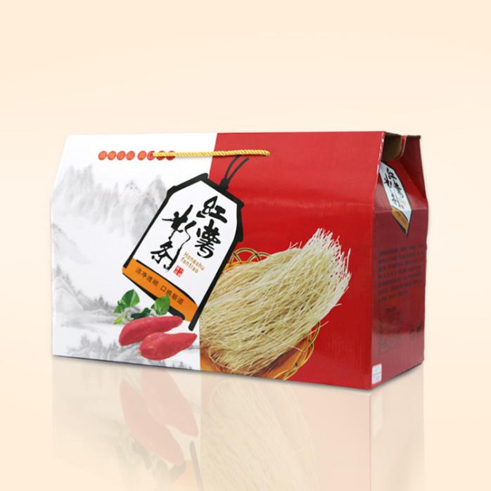 河南粉条纸箱生产 粉条礼品包装盒定做 守时诚信厂家819002122