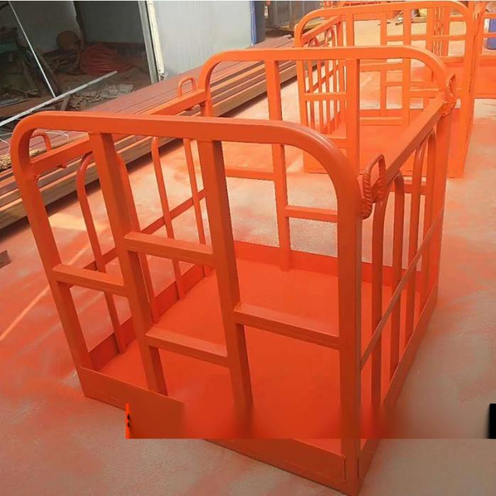 定制吊车专用吊框 吊车高空作业旋转吊篮103700485