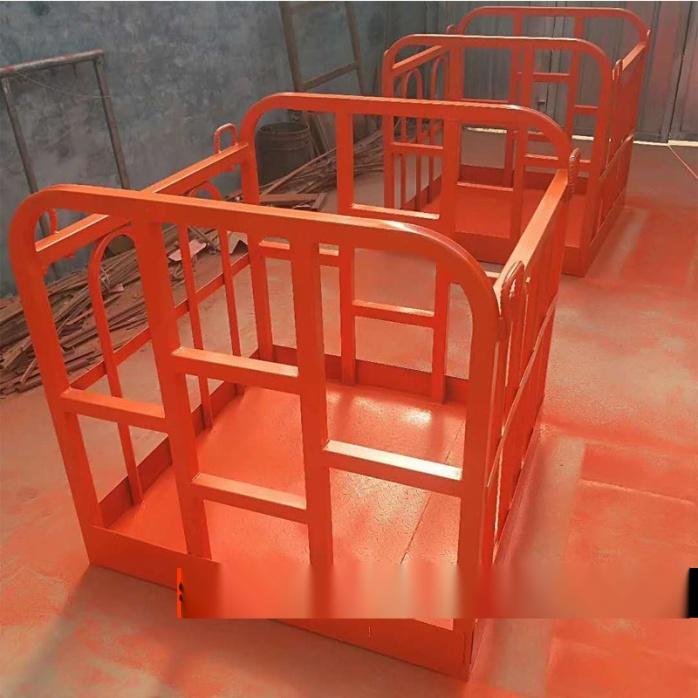 定制吊车专用吊框 吊车高空作业旋转吊篮103700495