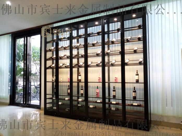 酒窖酒店家用红酒柜,别墅酒窖304不锈钢定制厂家104082495