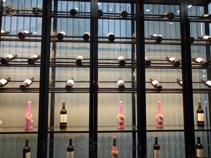 酒窖酒店家用红酒柜,别墅酒窖304不锈钢定制厂家104082505