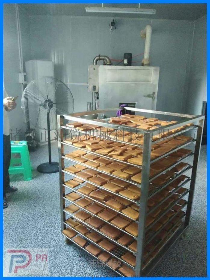 山东豆腐干炉子 熏豆腐干机器