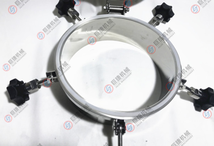 压力人孔 不锈钢人孔 卫生级人孔 圆形耐压人孔47900035