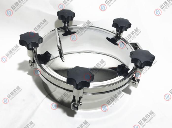 压力人孔 不锈钢人孔 卫生级人孔 圆形耐压人孔47900015