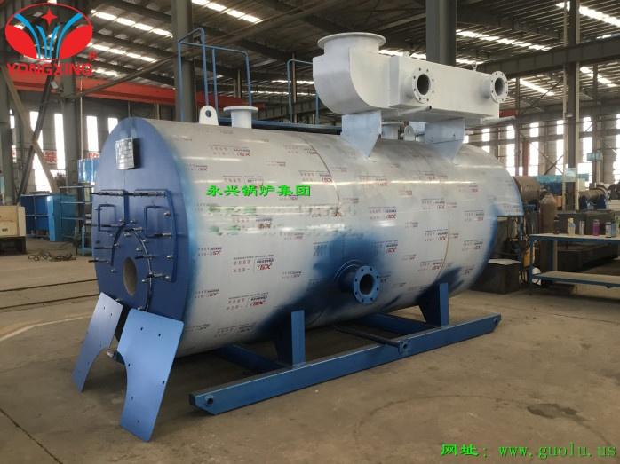 超低氮加大爐膛預混熱水鍋爐