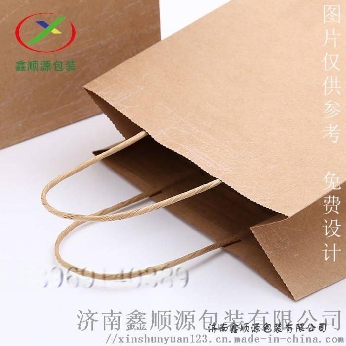 牛皮紙手提袋定製廠家直銷819473602