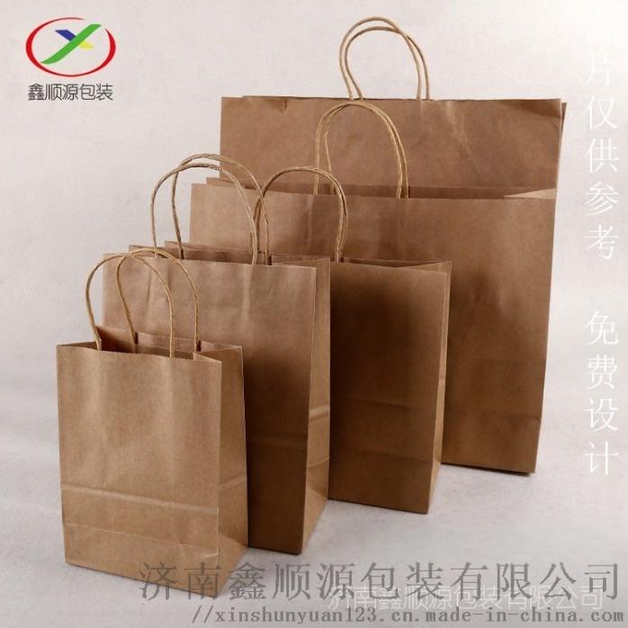 牛皮紙手提袋定製廠家直銷819473582