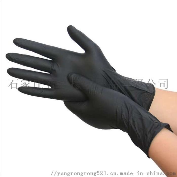 黑色手套,丁腈手套,一次性手套,家用手套825162152