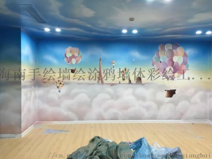 海南手绘墙公司