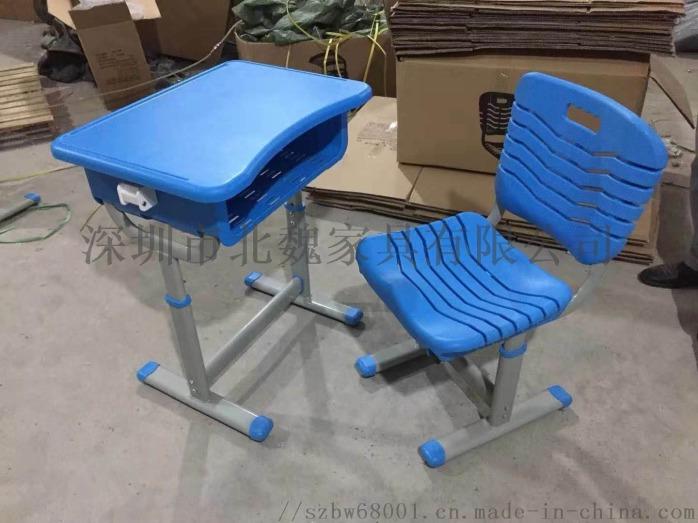 深圳連體鋼木結構課桌椅_鋼木課桌椅廠家105275325