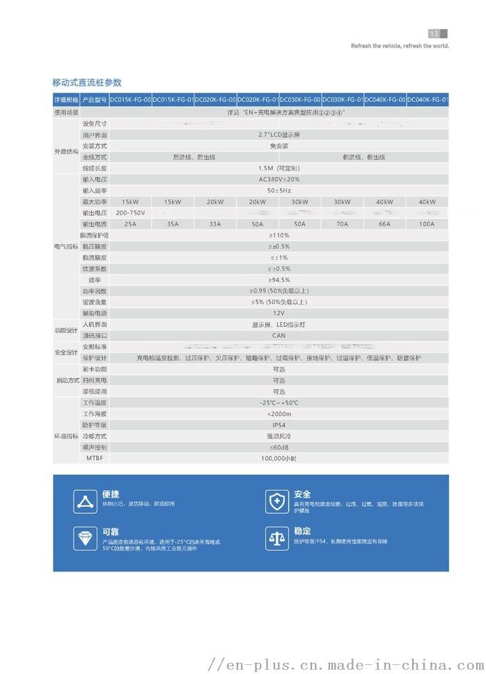 EN+驛普樂氏 電動汽車15-20KW移動式直流樁107305175