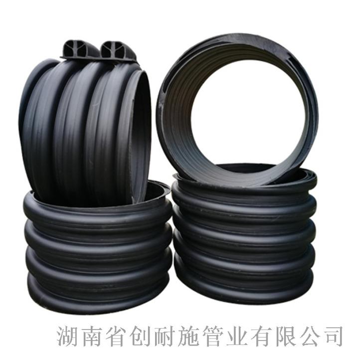 湖南多肋管HDPE多肋增强螺旋管dn300长沙每米817361275