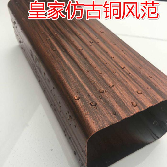 杭州方形铝合金下水管规格有现货773774562