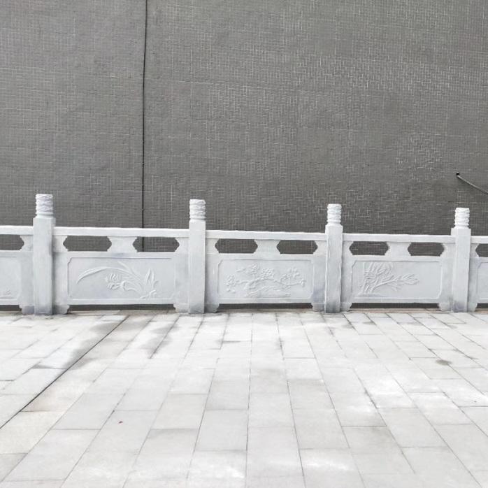 石材雕花栏杆制作厂家-曲阳县聚隆园林雕塑826317902