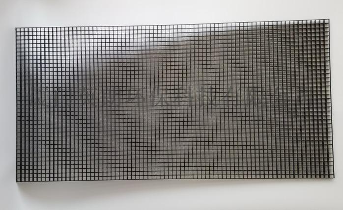黑色塑料格栅网格食品级,装饰工程展柜水族用网板84014702