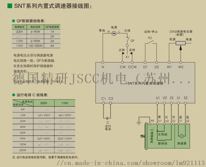 精研JSCC面板式調速器108978172