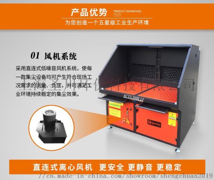 粉尘处理设备厂家直销 打磨除尘工作台可定制加工105682685