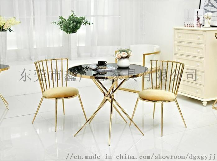 定做酒店傢俱不鏽鋼餐桌餐椅{鑫廣意傢俱}844832235