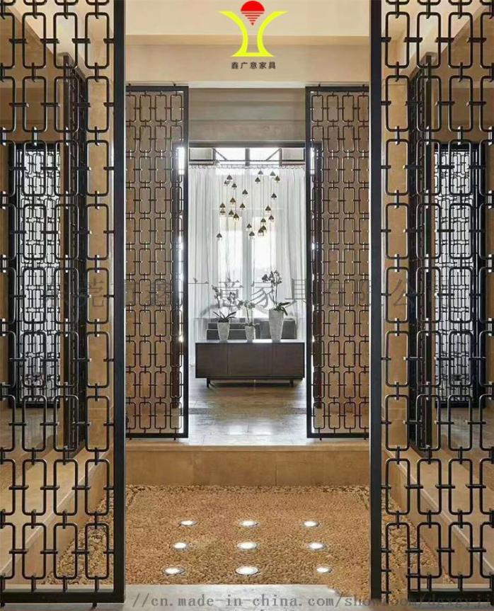 定做酒店傢俱不鏽鋼屏風找鑫廣意金屬傢俱廠844850835