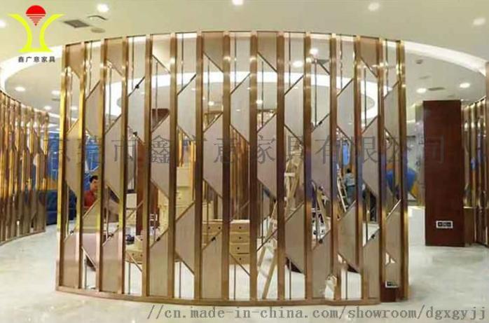 定做酒店傢俱不鏽鋼屏風找鑫廣意金屬傢俱廠844850825
