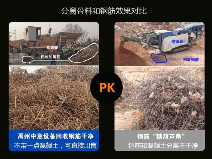 江苏移动式建筑垃圾处理设备将垃圾变废为宝102282242