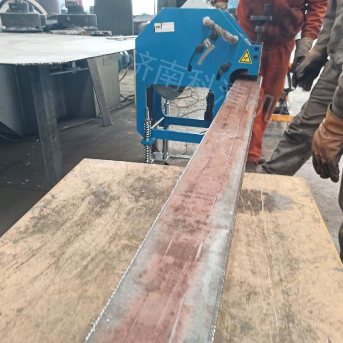 小型坡口机滚减式钢板坡口机平板倒角机831518862