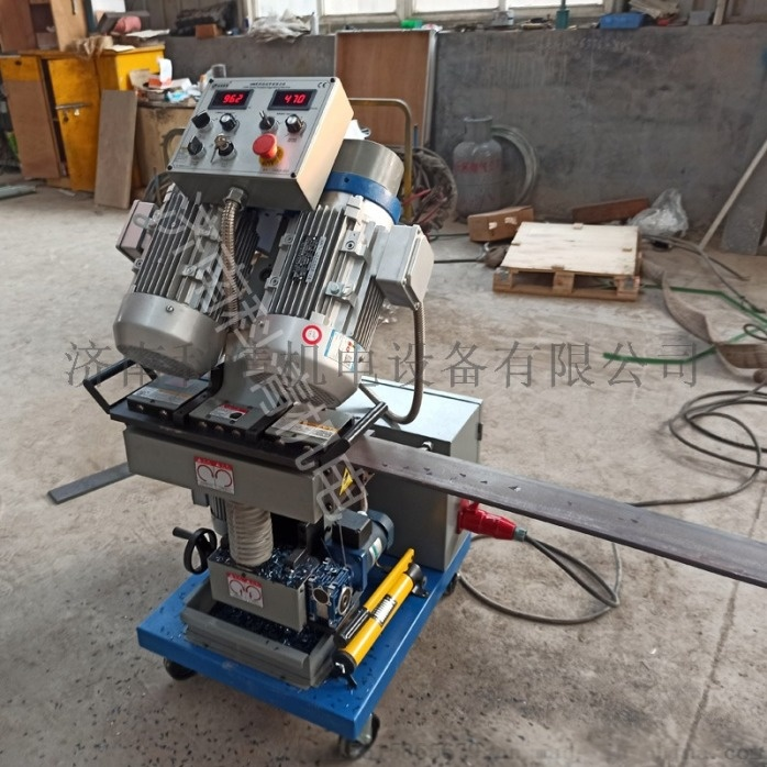 山东济南压力容器厂钢板铣边机自动行走平板铣边机832039882