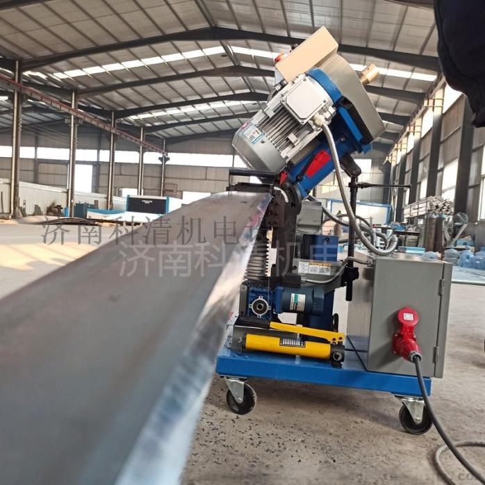 山东济南压力容器厂钢板铣边机自动行走平板铣边机832039872