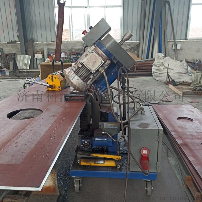 山东济南压力容器厂钢板铣边机自动行走平板铣边机832039862