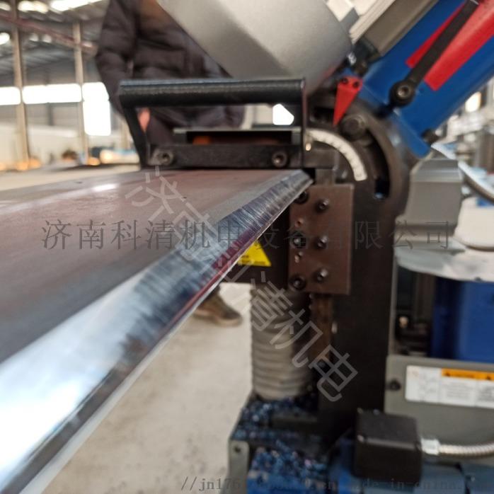 山东济南压力容器厂钢板铣边机自动行走平板铣边机110573342