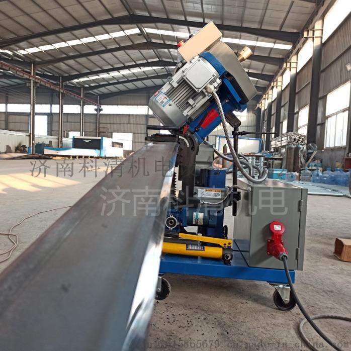 山东济南压力容器厂钢板铣边机自动行走平板铣边机110573322