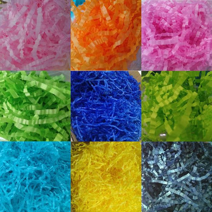 彩色纸丝 碎纸丝 褶皱纸丝 防震纸丝厂家批发111350345