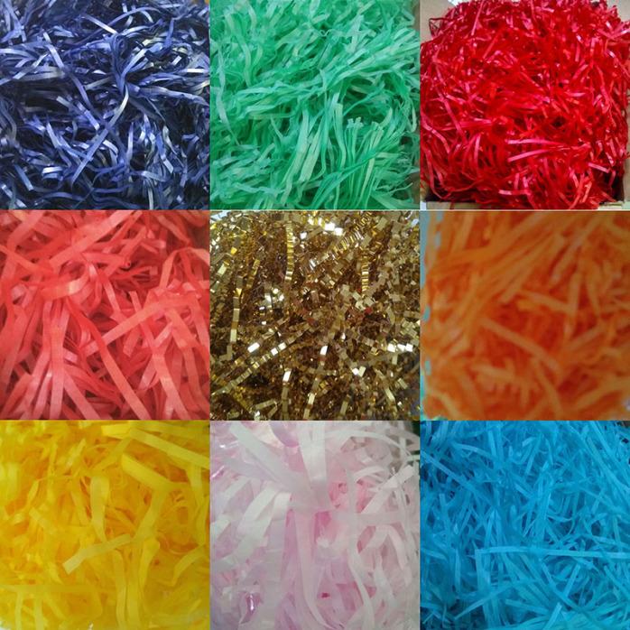 彩色纸丝 碎纸丝 褶皱纸丝 防震纸丝厂家批发111350585