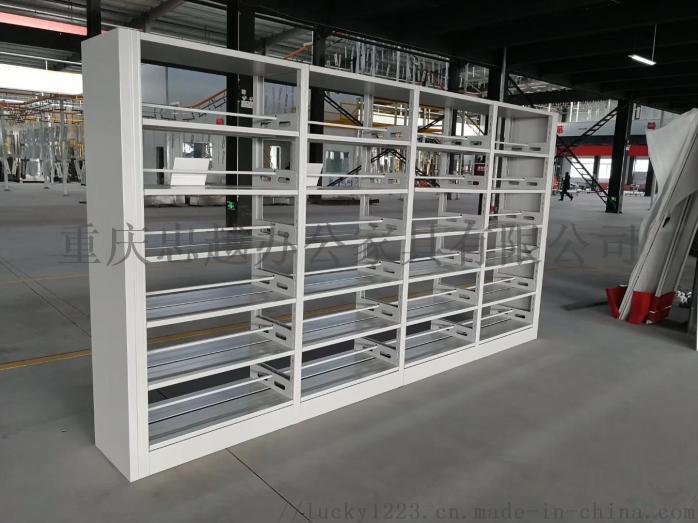 重庆书架 学生简易书架 钢制书架 图书架 厂家直销103822095