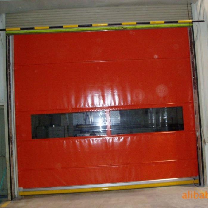 现货900克pvc夹网布 防水防晒柔性卷帘门布厂家838291205