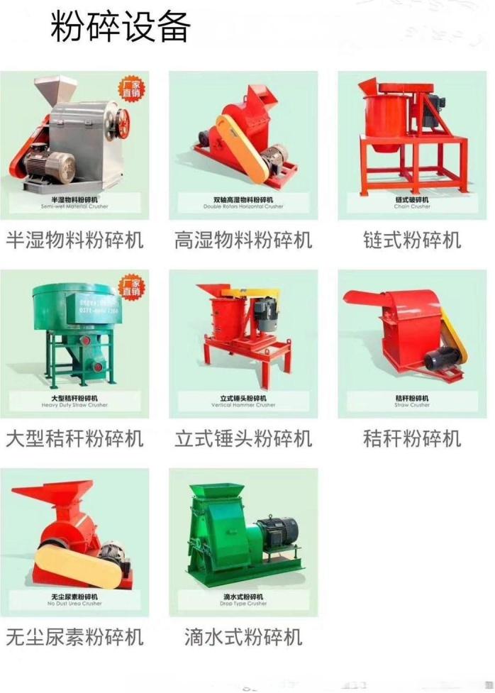 酒糟粉碎机,小型湿物料粉碎机价钱,小型有机肥生产线136064455
