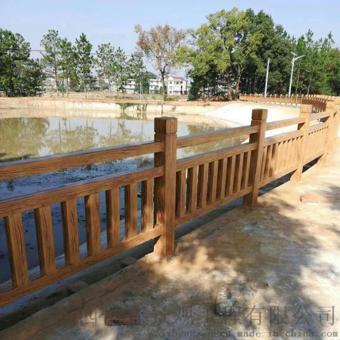 江西水泥护栏,广东艺术栏杆,福建围栏,仿木纹护栏851531665