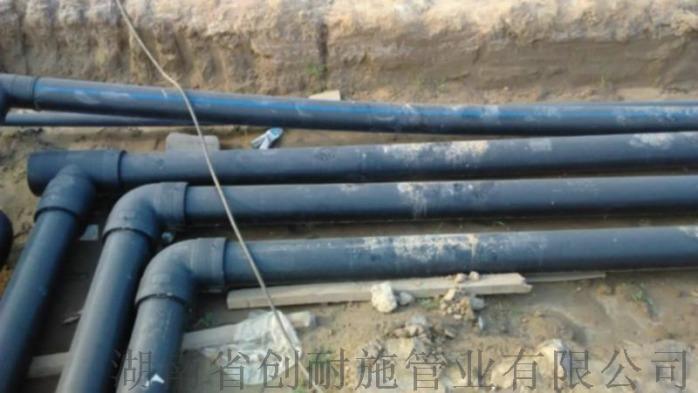湖南永州孔网钢带复合管 HDPE钢带复合管每米单价806221685
