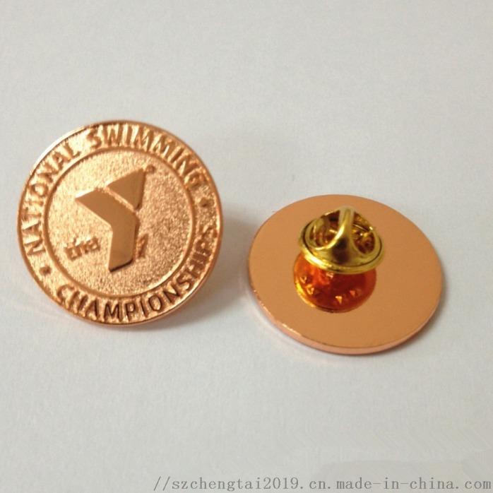 高档烤漆徽章定制,锌合金徽标制作,深圳胸章定制厂113580235