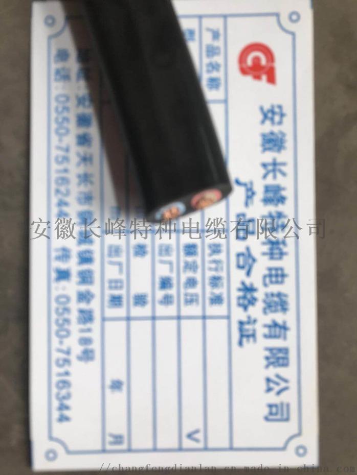 安徽长峰电缆GG/3*50+1*25硅橡胶电力电缆852404095