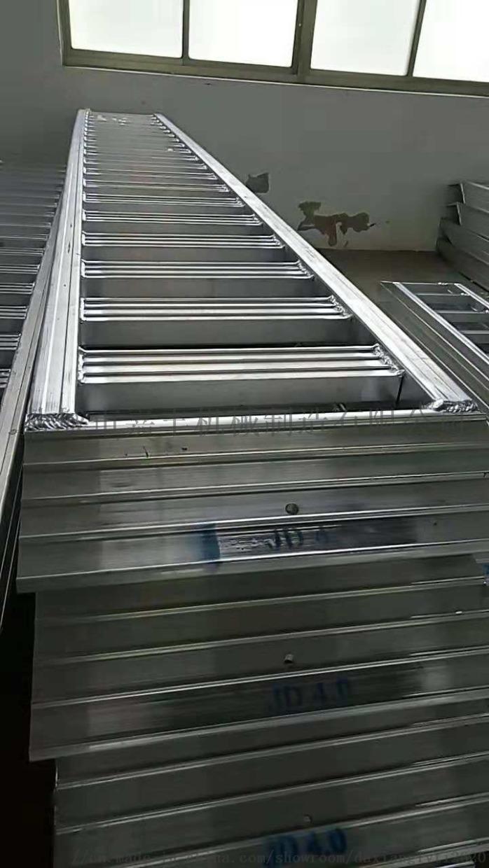 叉车专用铝梯上下卡车铝合金爬梯114450445